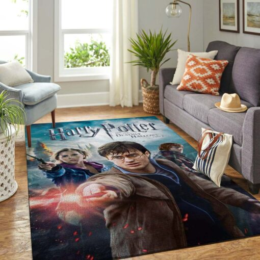 Harry Potter And The Deathly Hallows Rug