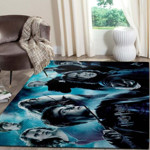 Dumbledore and Snape Harry Potter Rug