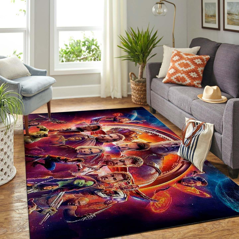 Infinity War Avengers Rug