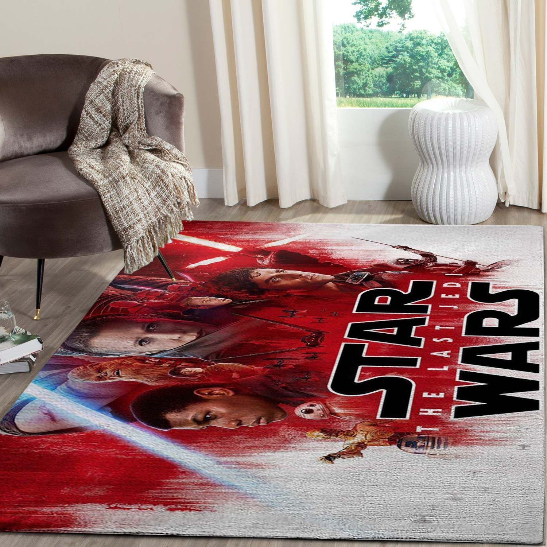 The Last Jedi Star Wars SuperHero Rug