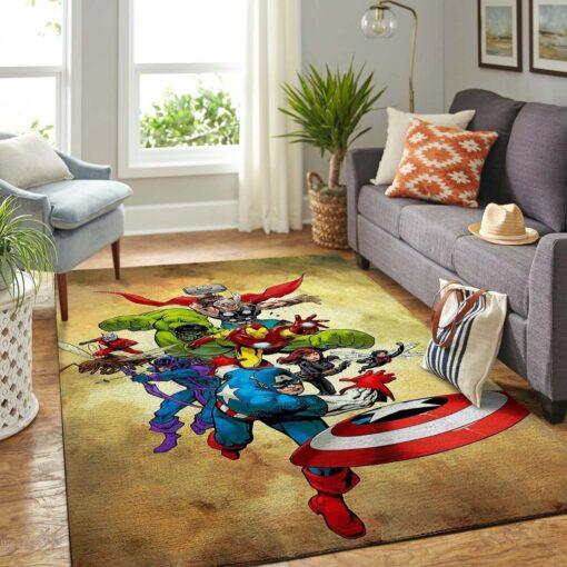 Marvel Superhero Avengers Rug