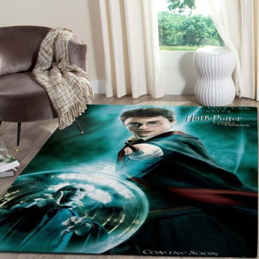 Harry Potter And Voldemort Rug