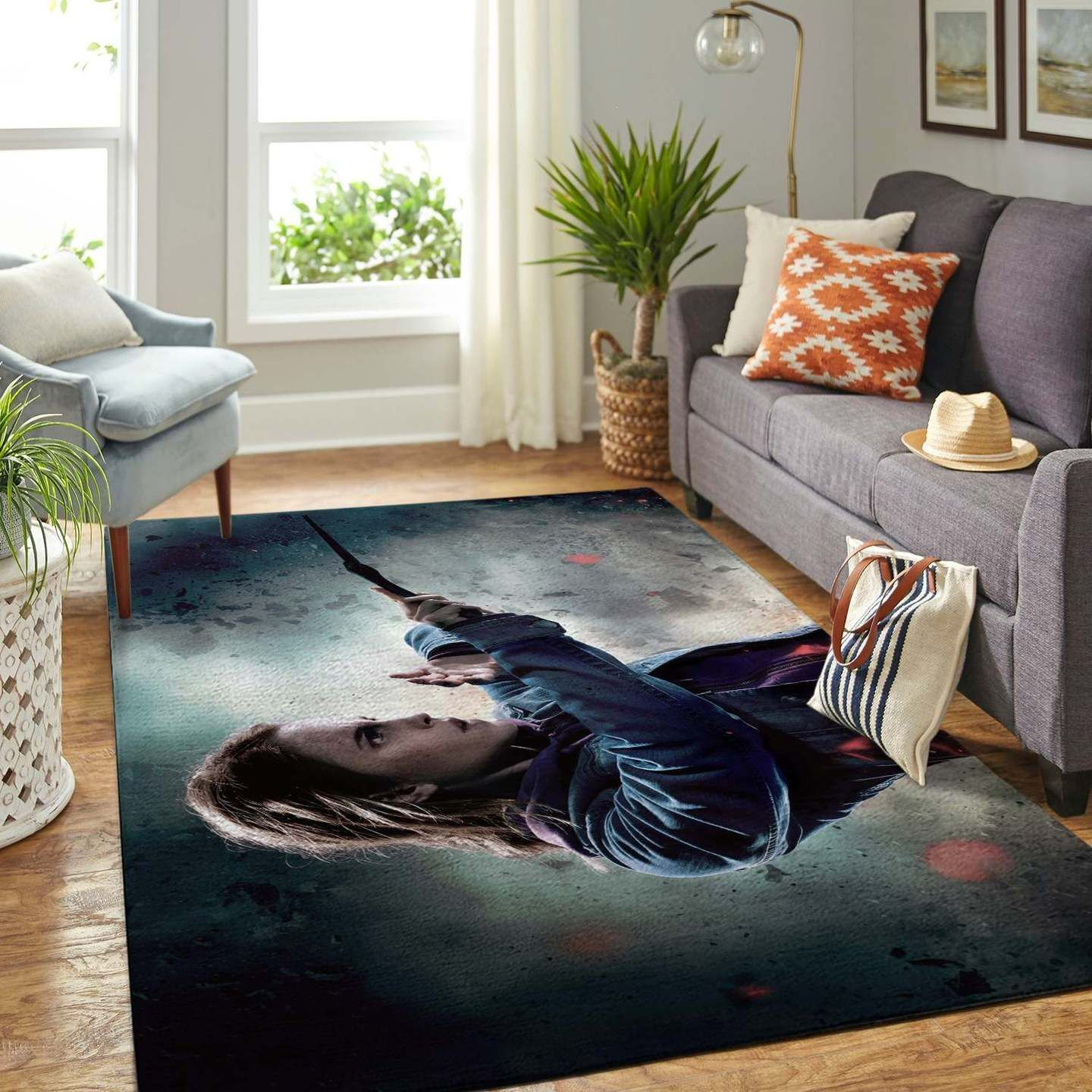 Hermione Harry Potter Rug