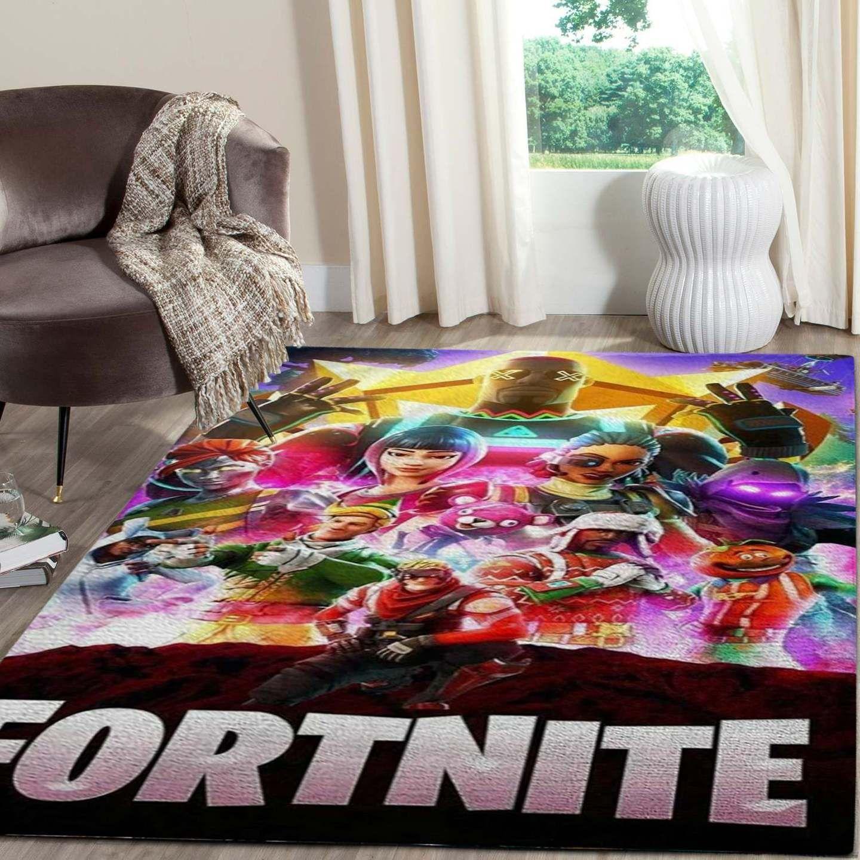 Epic Games 2Fa Fortnite Area Rug
