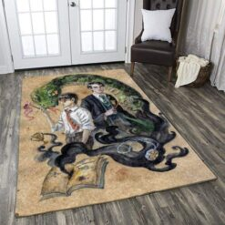 Harry Potter And Cedric Diggory Rug