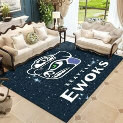Seattle Ewoks Star Wars Rug