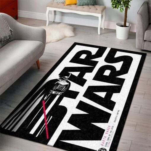Darth Vader Lightsaber Star Wars SuperHeros Rug