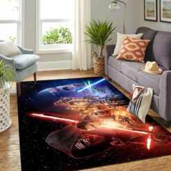 Rise Of Skywalker Star Wars Rug