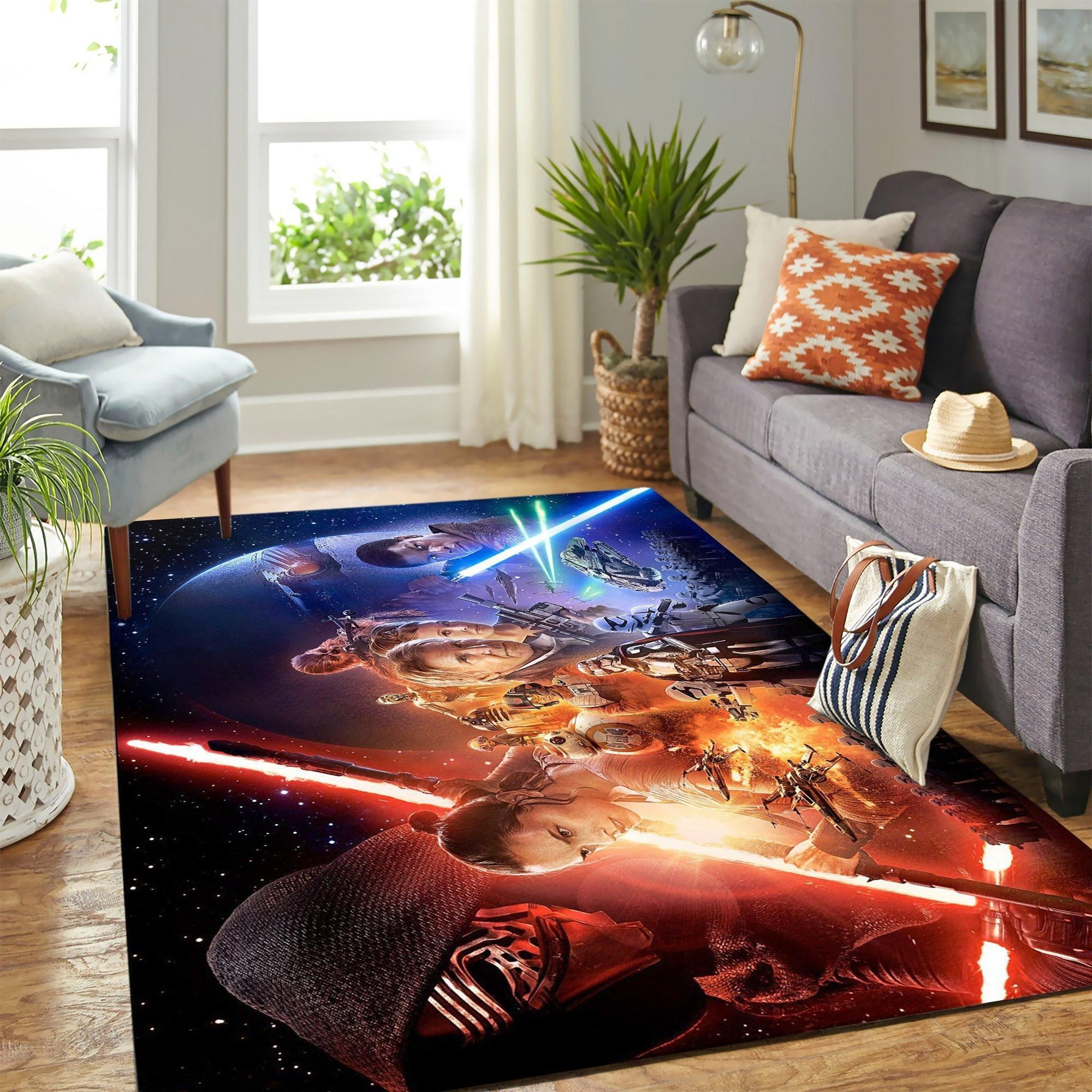 Star Wars The Force Awakens Rug