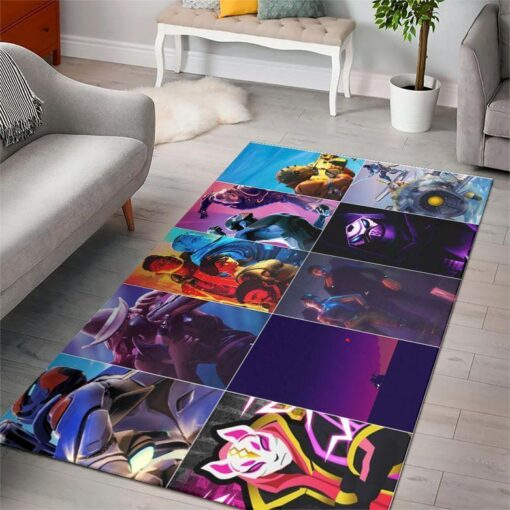 Characters Of Fortnite Gaming Rug