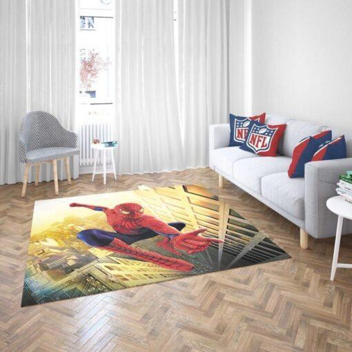 Spider Man Of Avengers Rug