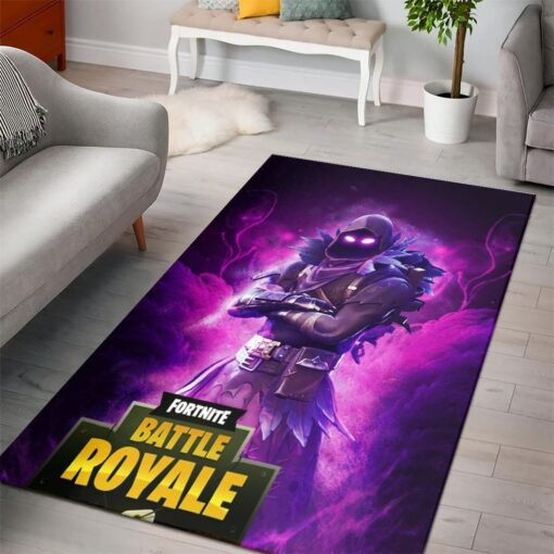 Raven Fortnite Battle Royale Rug