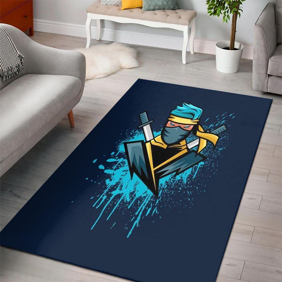 Ninja Of Fortnite Epic Gaming Rug