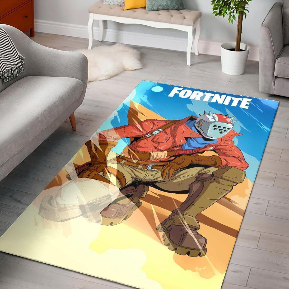 Rust Lord Of Fortnite Gaming Rug