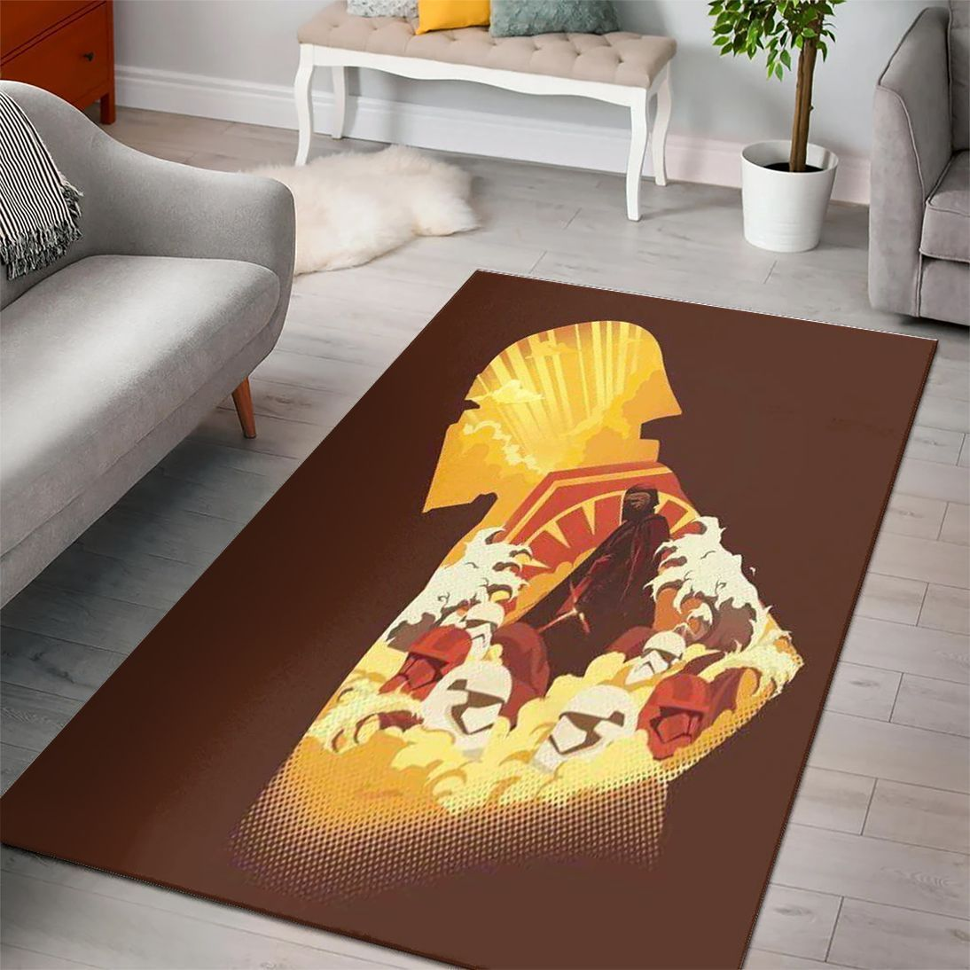 The Last Jedi Star Wars Rug
