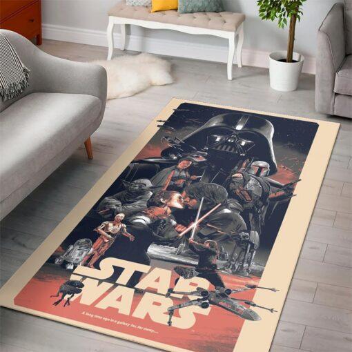 Darth Vader's Lightsaber Star Wars Rug