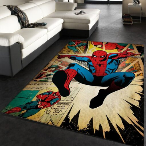 Spider Man Hero Rug