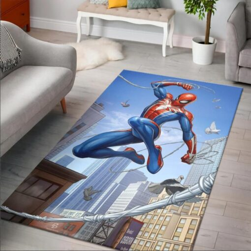 Spider Man Marvel Rug