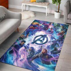 Avengers Endgame Infinity War Rug