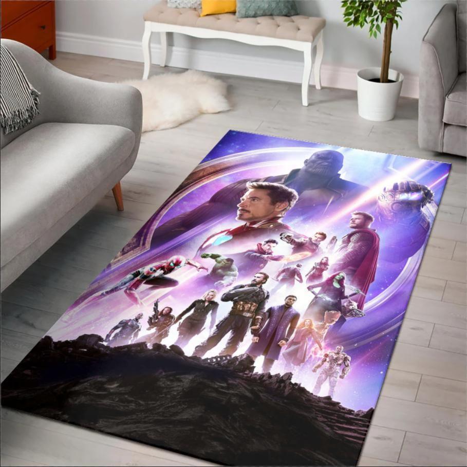Superhero Avengers Infinity War Rug