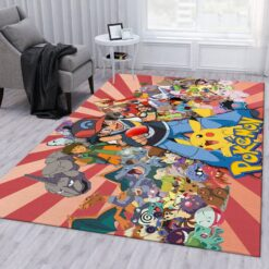 Pokemon Let's Go Pikachu Rug