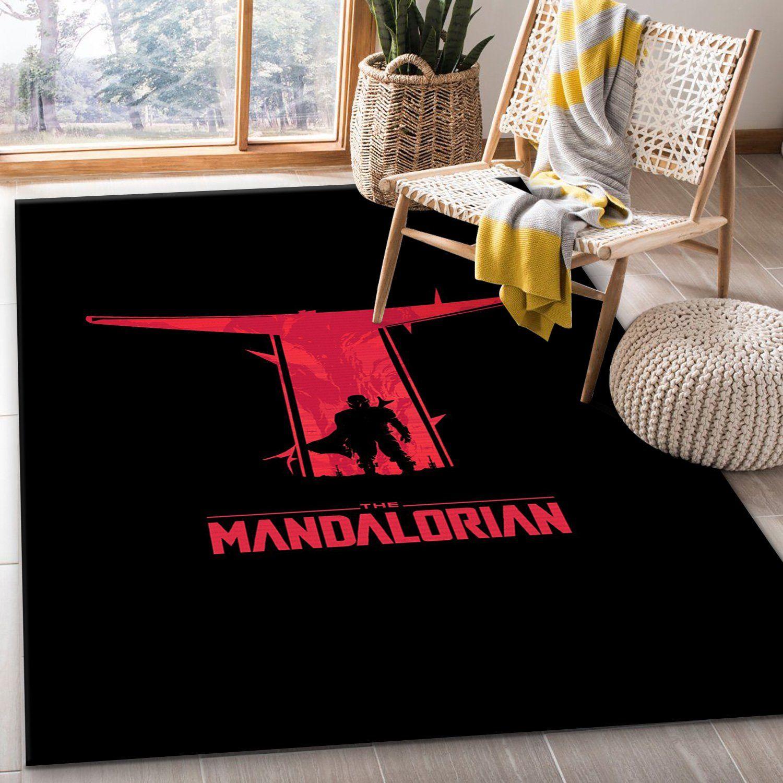Mandalorian Bedroom Rug