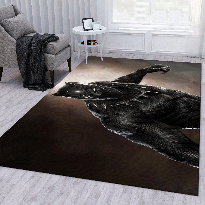 Black Panther Marvel Rug