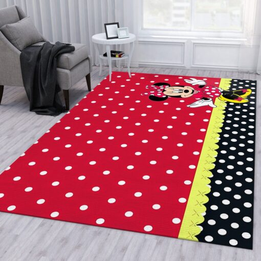 Minnie Mouse Rug Patterns