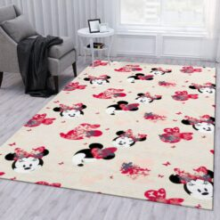 Minnie Mouse Head Rug