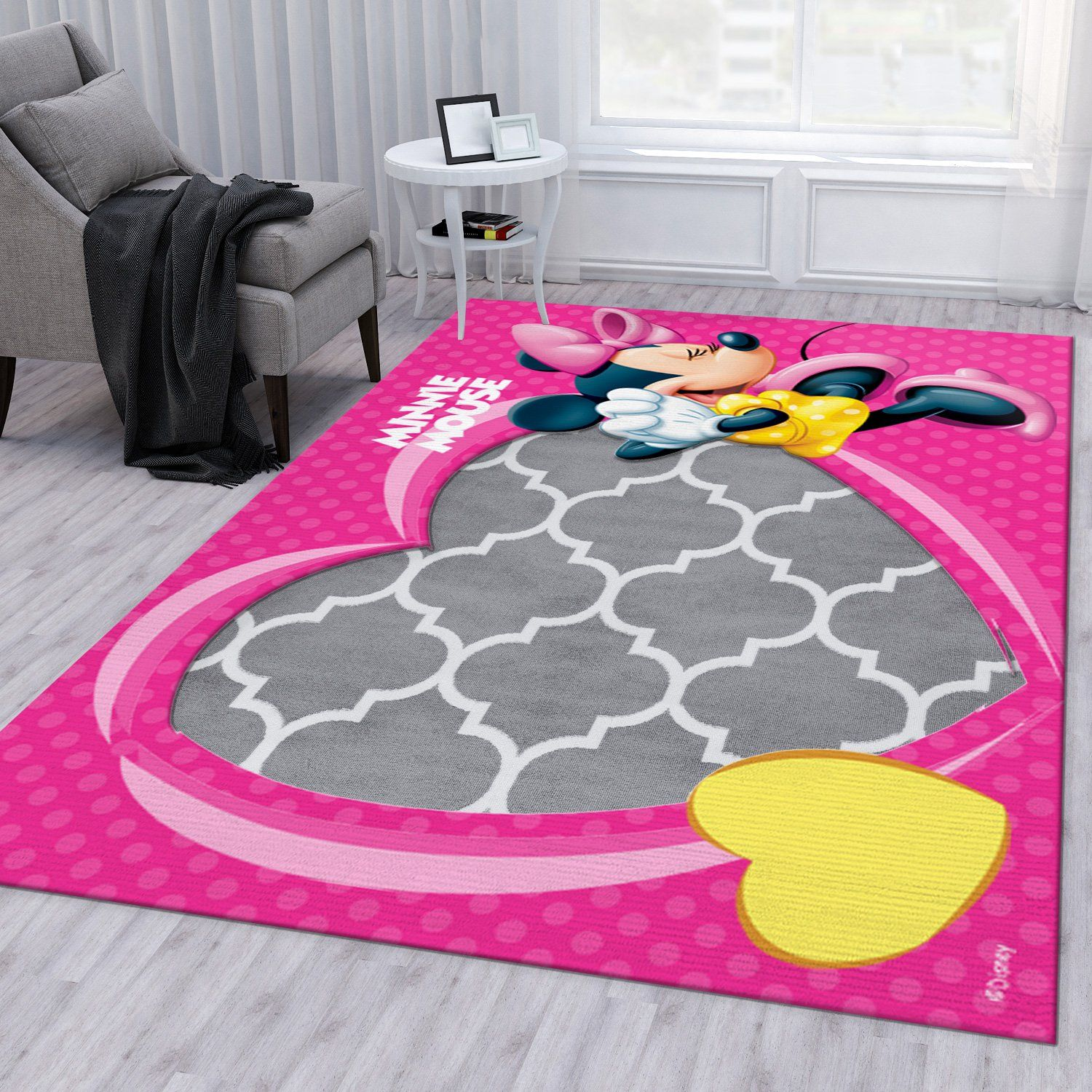 Minnie Mouse Bathroom RugMinnie Mouse Bathroom Rug
