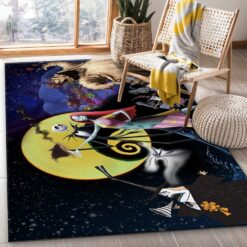 The Nightmare Before Christmas Rug