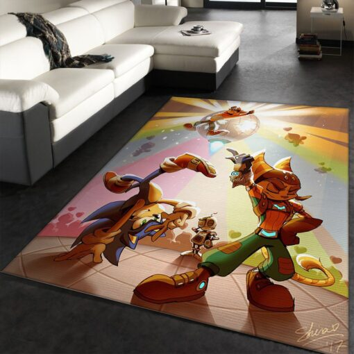 Ratchet And Clank Rug