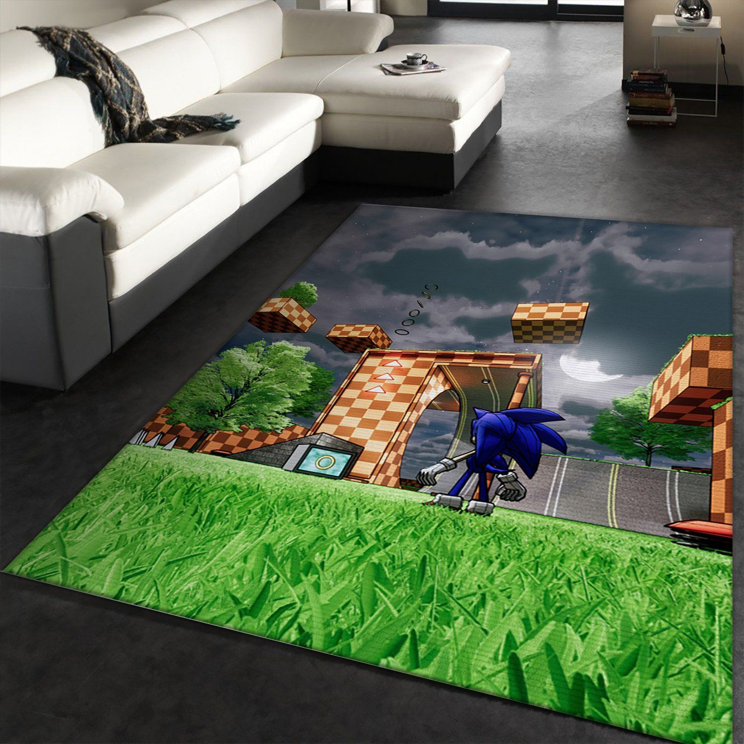 Sonic Game Rug