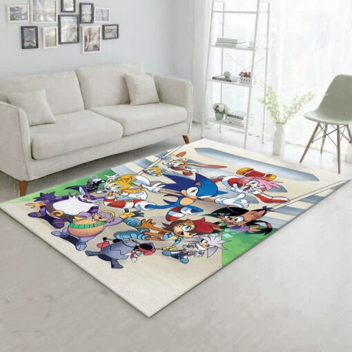 Sonic Freedom Fighters Rug