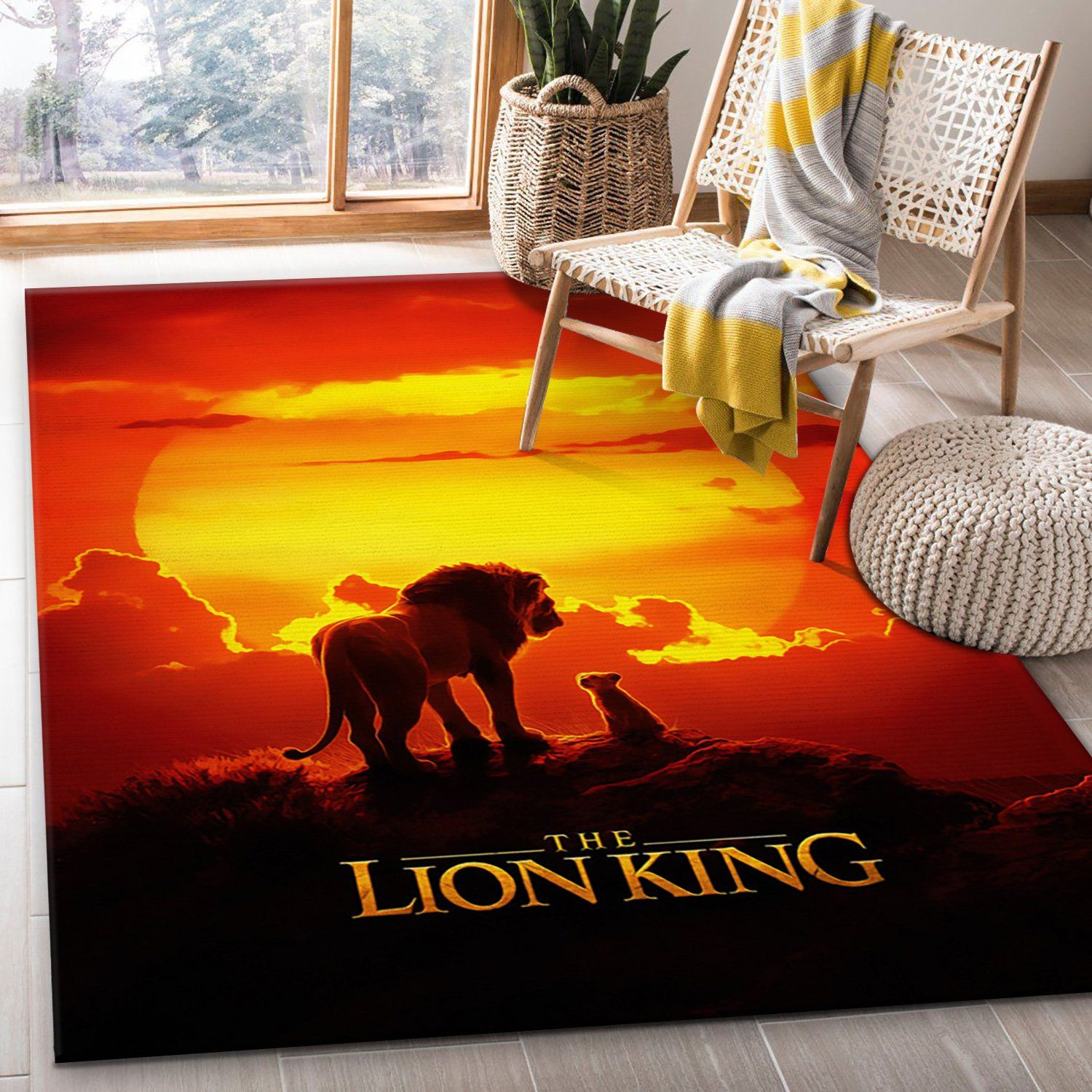 Simba The Lion King Rug