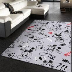 Mickey Mouse Cartoons Rug