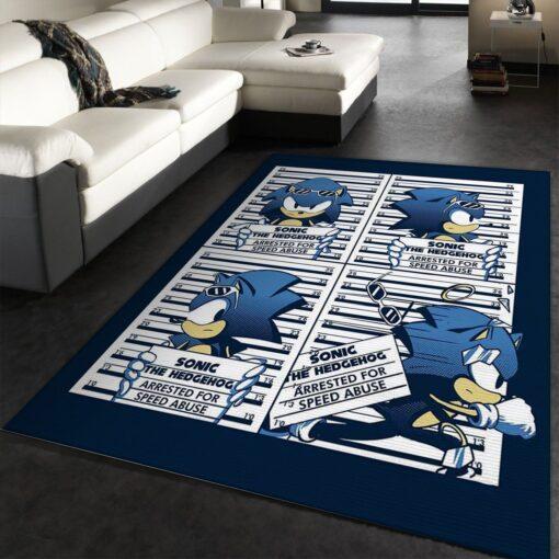 Sonic The Hedgehog Rug