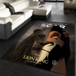 Scar The Lion King Rug