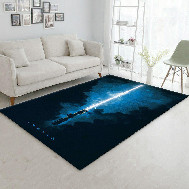 Lightsabers Anakin Skywalker Star Wars Rug