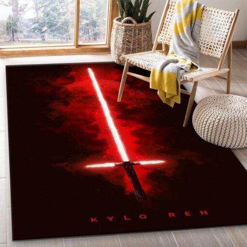 Lightsabers Kylo Ren Star Wars Rug
