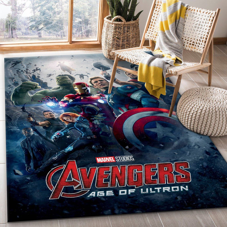 Avengers Age Of Ultron Rug