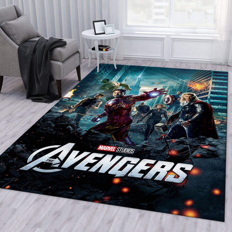 Avengers Movie Rug