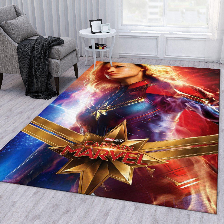 Carol Danvers Captain Marvel Rug