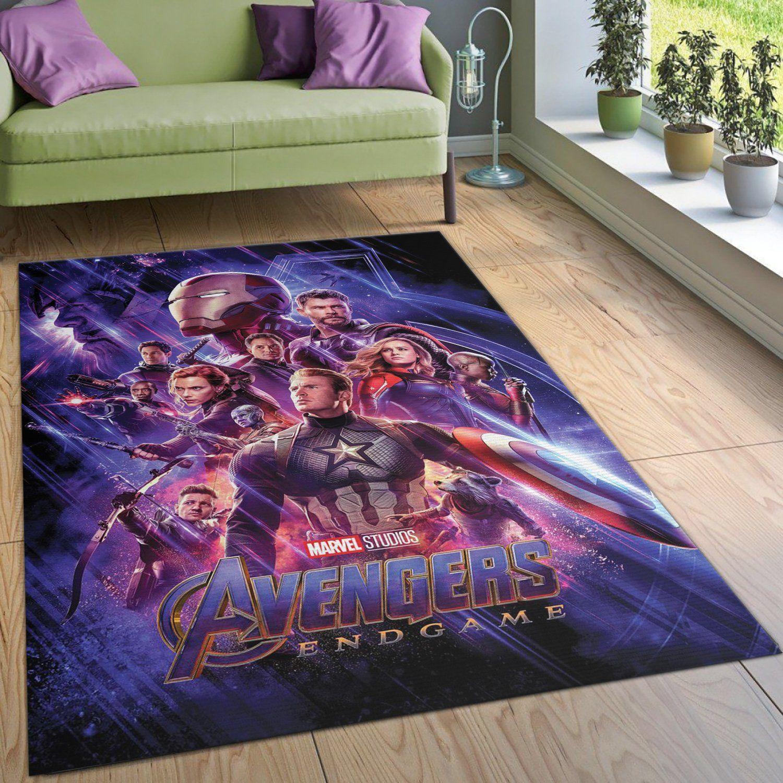 Avengers Endgame Rug