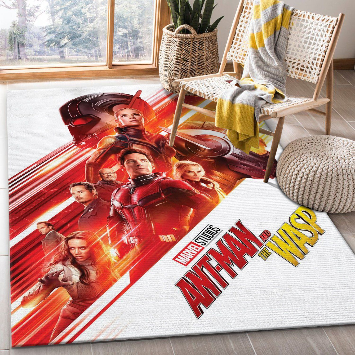Ant Man And The Wasp Rug