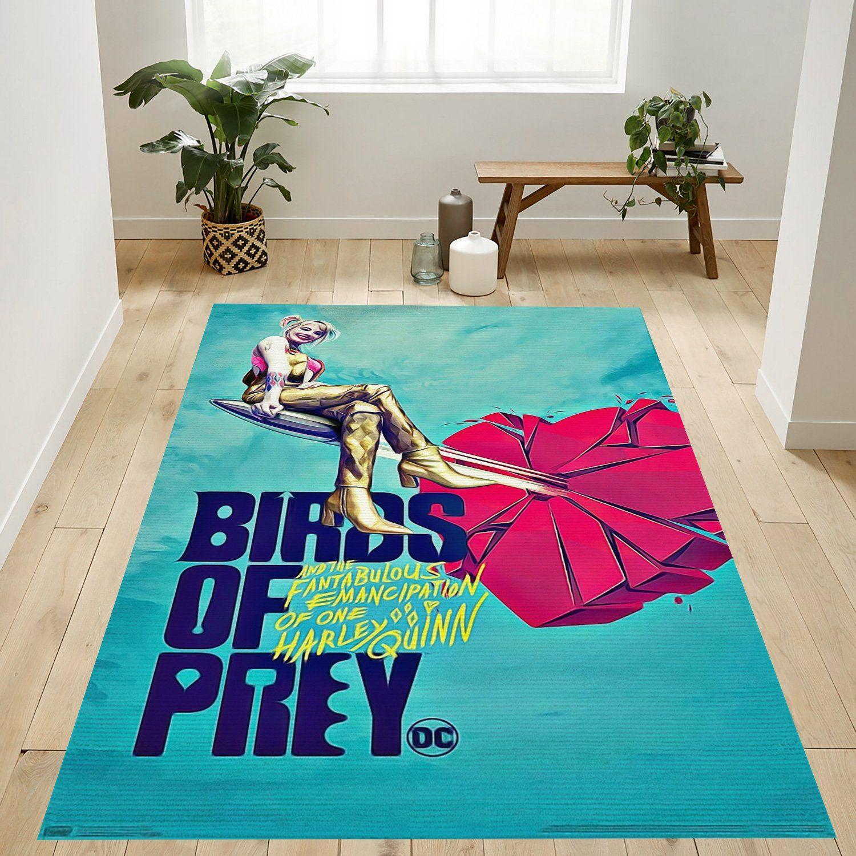 Birds Of Prey Heart Rug