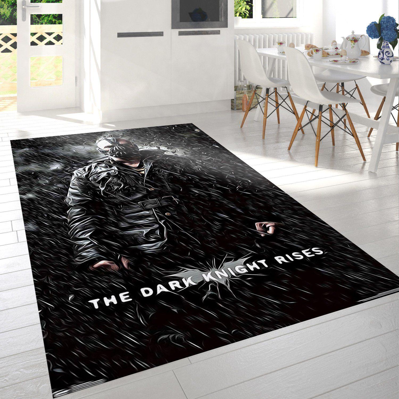The Dark Knight Rises Bane Rain Rug