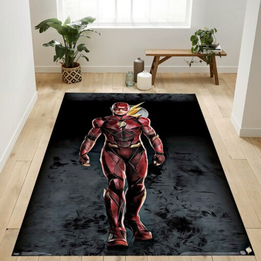 Justice League The Flash Rug