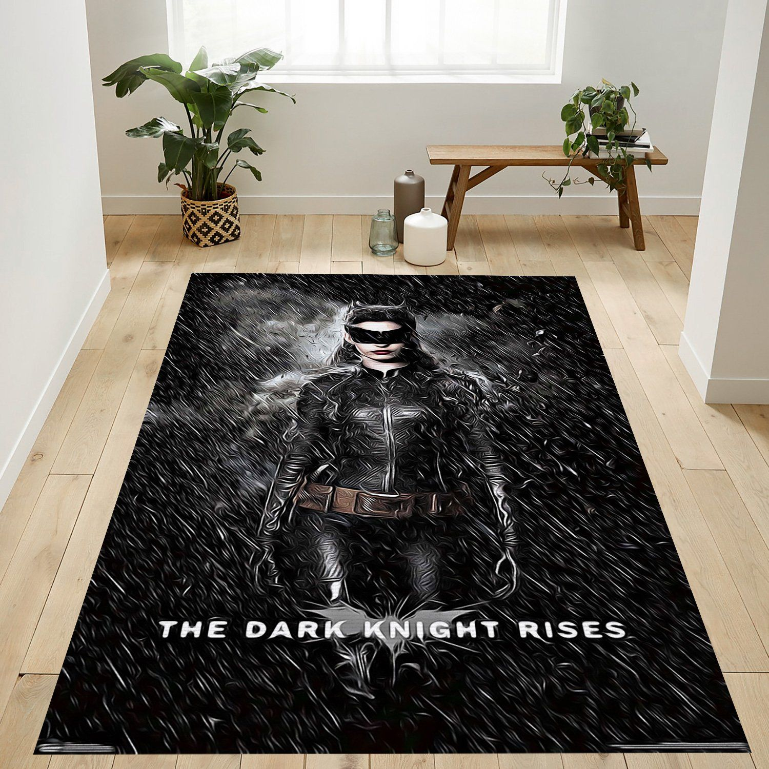The Dark Knight Rises Catwoman Rug