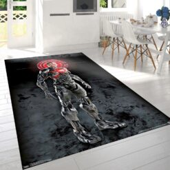 Justice League Cyborg Rug